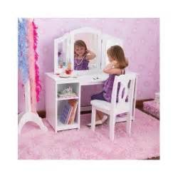 Children S Play Vanity Table Dressing Table Chair Vanity Mirror Side Mirrors Desk