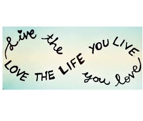 Infinity Quote Quote Live The You The You Live