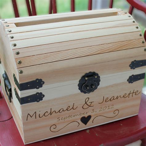 Wedding Card Chest by Custom Wedding Accessories Weddings Wedding Card