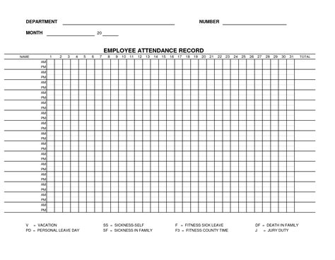 excel attendance template attendance sheet excel template masir