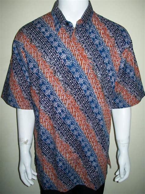 Jual Kemeja Jumbo Laki batik pria ukuran besar jumbo big size untuk laki