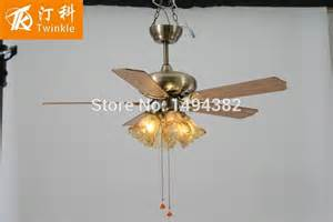 How To Attach A Chandelier To A Ceiling Fan Free Shipping Vintage Remote Control Ceiling Fan