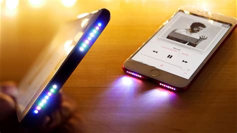 glowing speaker iphone mod     rgb youtube