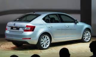 2013 skoda octavia hatchback rendering autoevolution