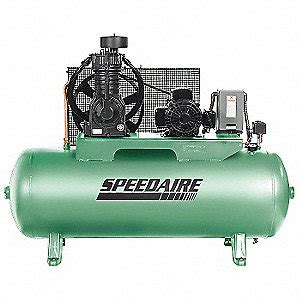 speedaire air compressor 80 gal 720rpm horizontal stationary electric air compressors