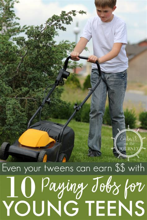 10 of the best paying for teenagers