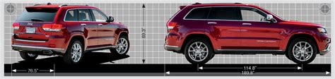 Jeep Grand Size Goseekit Image 2015 Grand Dimensions