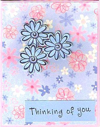 Thinking Of You Verses For Handmade Cards - thinking of you greeting card wblqual