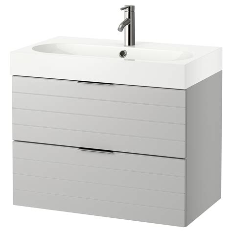 Wash Stand With Drawers by Br 197 Viken Godmorgon Wash Stand With 2 Drawers Light Grey