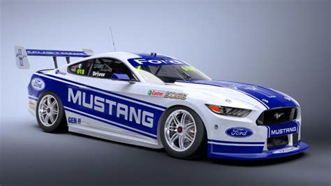 Will Mustang Replace Falcon in Aussie Supercars Series