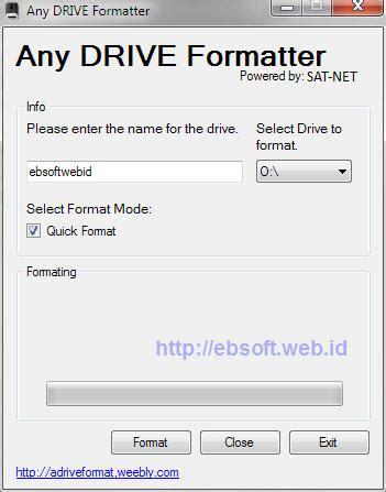 format flashdisk standar software gratis alternatif format usb flashdisk flash