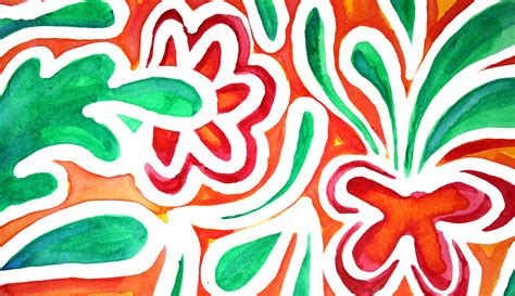 free form design of batik create a beautiful batik style painting on paper craftsy