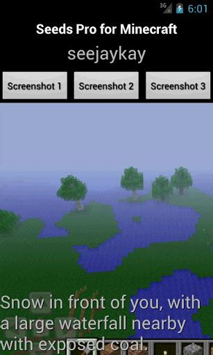 seeds pro for minecraft v1 1 paid apk apk free - Minecraft Paid Apk