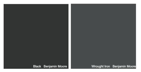 remodelaholic color spotlight benjamin wrought iron