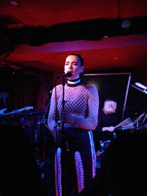 dua lipa concert dua lipa sizzles at the mckittrick hotel in new york city