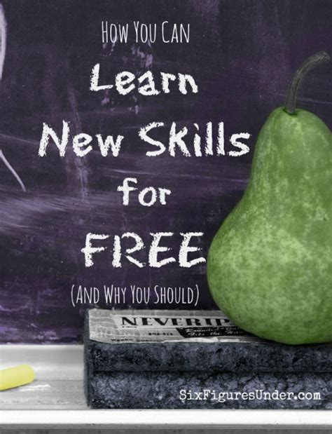 learn new skills for free six figures