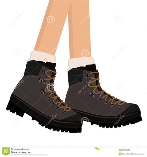 boot c for bad free hiking boots vector royalty free stock photography image