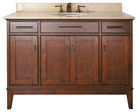 Bathroom Vanities Combo 48 In Vanity Combo Tobacco Tropical Bathroom Vanities And Sink Consoles By