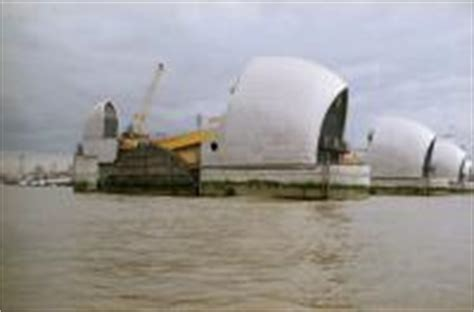 thames barrier opening ceremony freak weather and the port ceremony and catastrophe