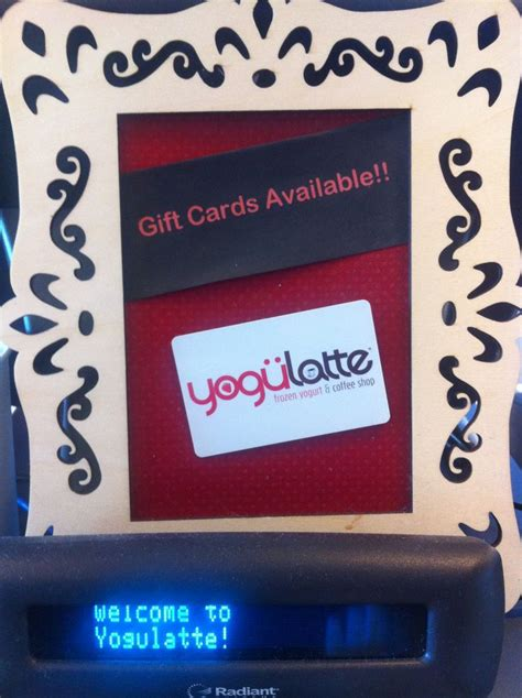 Speedy Gift Card Balance - yogulatte gift cards now available speedway indiana pinterest