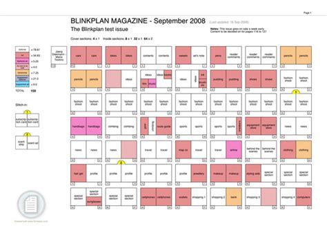 plan magazine flatplan