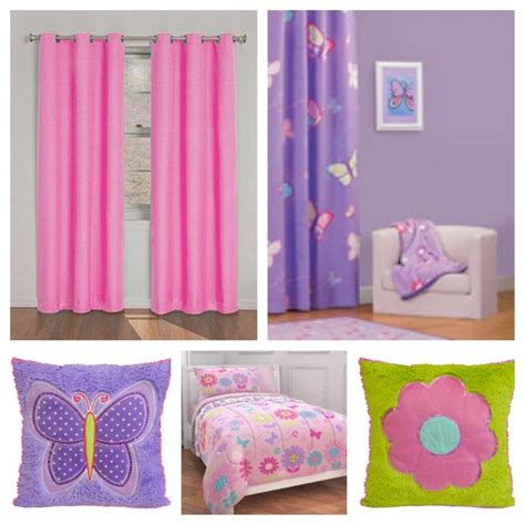 girls purple curtains color palette purple wall pink curtains and bedding