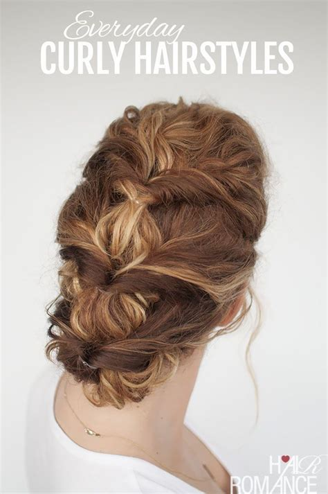easy hairstyles curly hair do home 369 best images about hair romance tutorials on pinterest
