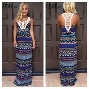 Wholesale high fashion printed womens dresses maxi design long dresses