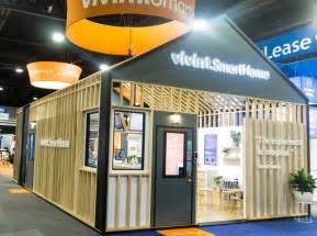 home design expo 2017 vivint smart home booth at naa 2017 by mackenzie exhibit