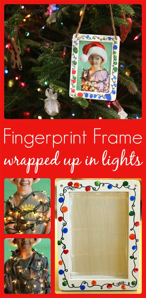 christmas gifts for kids in school gifts for to make fingerprint frame