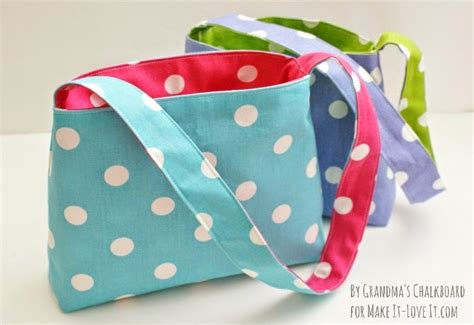 tote bag pattern for toddler the reversible bag for kids make it and love it