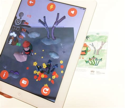 chromeville augmented reality app helps children bring to their paintings