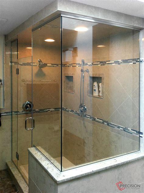 Glass Shower Gallery Precision Glass Shower Custom Bathroom Showers