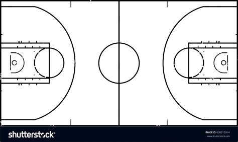 basketball court diagram labeled diagram basketball half court diagram