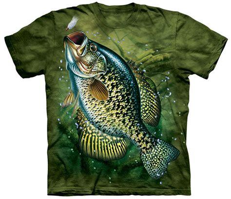 Natrual Made Fish Nutrusi Usa crappie fish shirt made of usa cotton