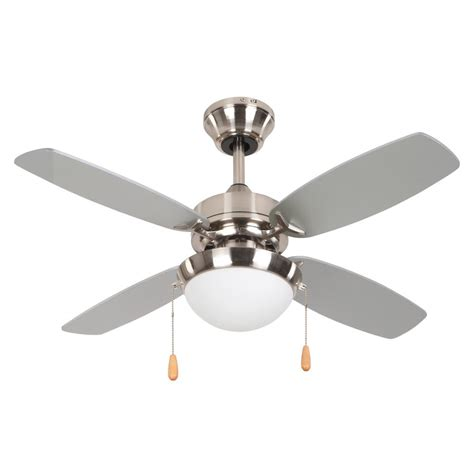 home decor ceiling fans yosemite home decor ashley 36 in bright brushed nickel