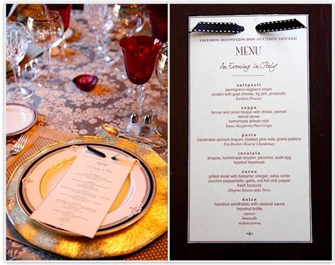elegant dinner party menu ideas the italian dish posts auction dinner party