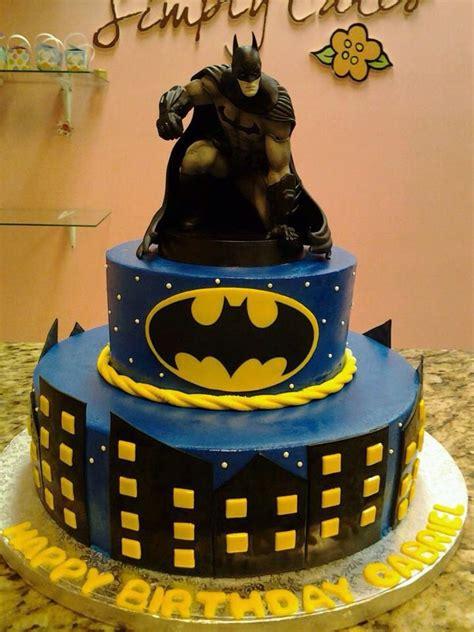 batman cake decorado de pastel