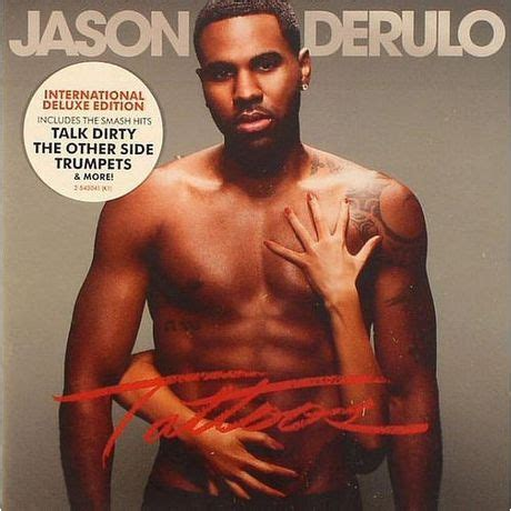jason derulo tattoo jason derulo tattoos deluxe edition walmart canada