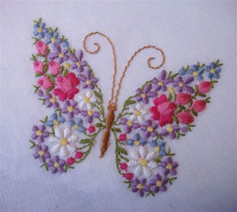 free butterfly hand embroidery 787 best images about bordado crewel on pinterest hand