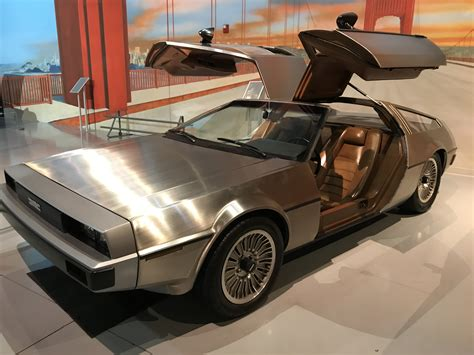 prototype cars delorean prototype production aaca museum