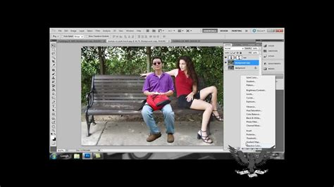 tutorial photoshop cs5 ganti background adobe photoshop cs5 blending tutorial youtube