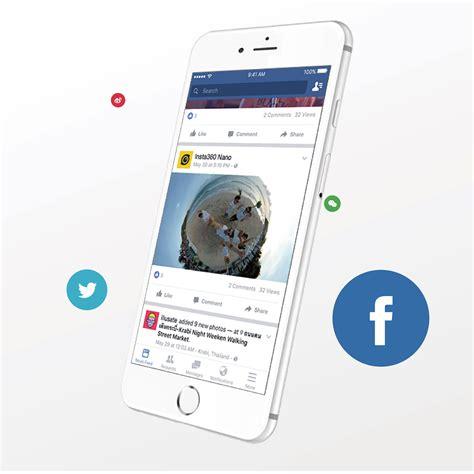 Brica Insta360 Nano Vr For Iphone 66s Brica Insta 36 insta360 nano 3k 360 176 vr spherical for iphone lazada singapore