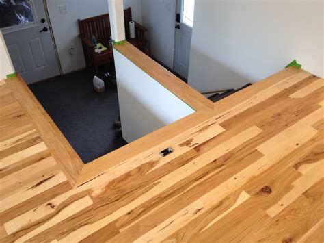 hardwood in the split level home a project blog natural
