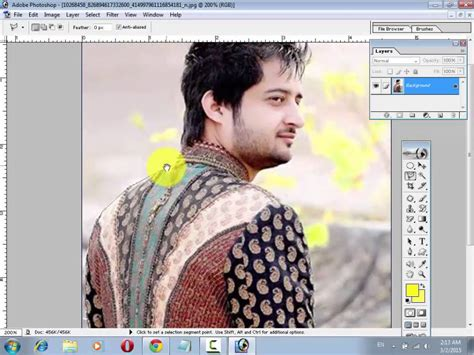 adobe photoshop cs3 tutorial in hindi how to remove an image background in photoshop urdu hindi