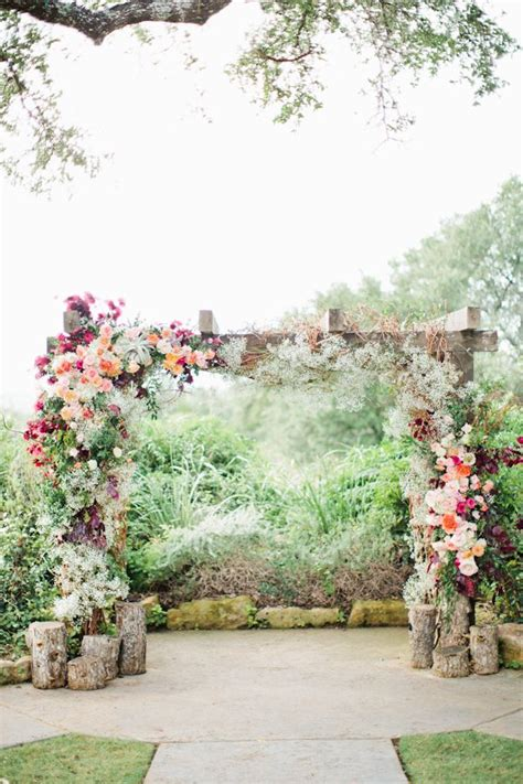 Rose Trellis Plans by 26 Floral Wedding Arches Decorating Ideas Deer Pearl Flowers