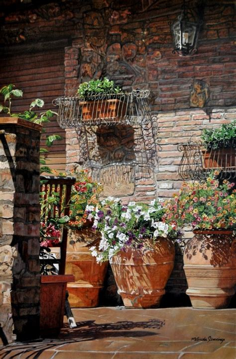 Italian Garden Decor 1000 Images About Tuscan Curb Appeal On Pinterest Italian Entrance And Tuscan House