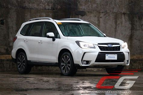 subaru forester xt 2016 review 2016 subaru forester xt philippine car news car