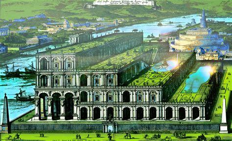 imagenes de los jardines de babilonia historia hidroponia