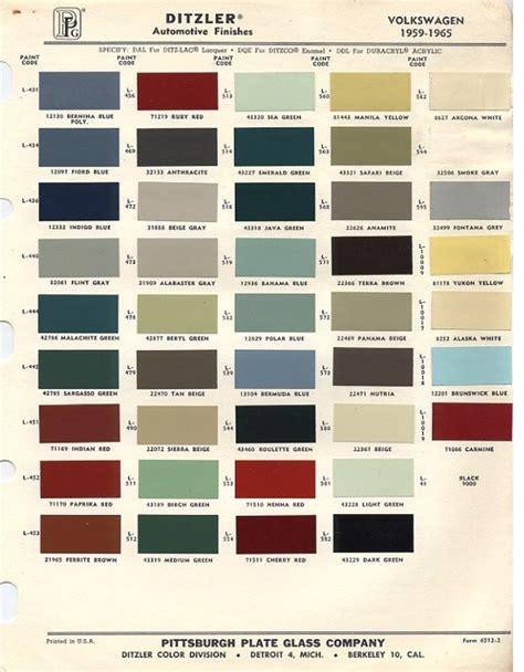 volkswagen beetle colors original vw beetle paint schemes paint schemes vw